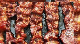 Bacon Breakfast Stuffing Wrap BLT PNG