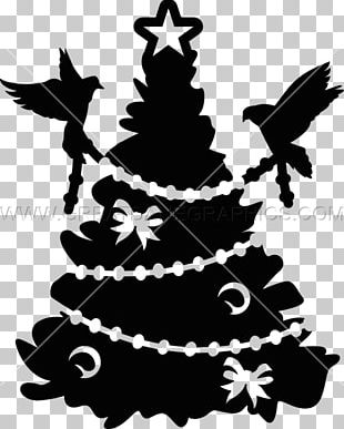 Fir Christmas Ornament Spruce Christmas Tree Silhouette PNG