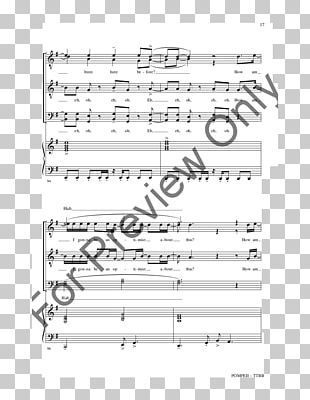 Sheet Music J W  Pepper & Son Choir SATB PNG, Clipart, Angle