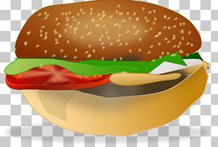 Hamburger Cheeseburger Fast Food French Fries PNG