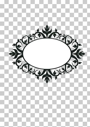 Floral Ornament Borders And Frames PNG