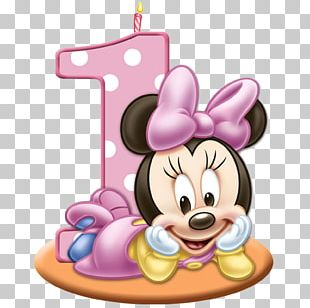 Minnie Mouse Mickey Mouse Birthday Cake PNG