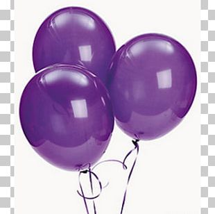 Balloon Purple Party Birthday Lavender PNG