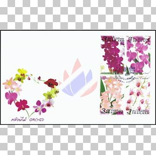 Postage Stamps Orchids Stamp Collecting Rubber Stamp Thailand PNG