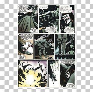 V For Vendetta Comics Comic Book Graphic Novel PNG