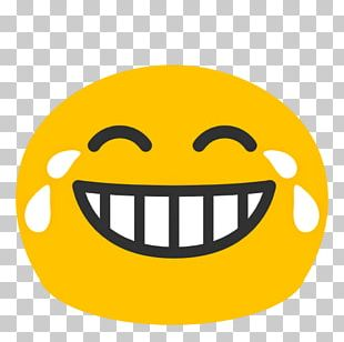 Face With Tears Of Joy Emoji Android Smile Laughter PNG