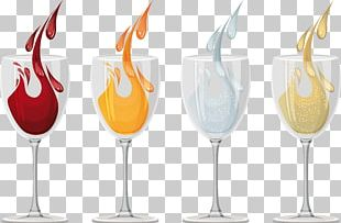 Champagne Wine Glass PNG