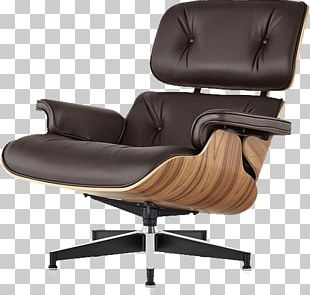 Eames Lounge Chair Wood Lounge Chair And Ottoman Charles And Ray Eames Herman Miller PNG