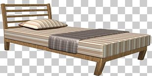 Bed Frame Mattress Couch PNG