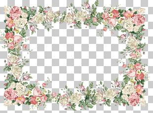 Wedding Invitation Flower Rose Vintage PNG