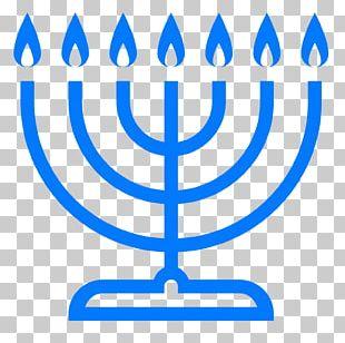Menorah Judaism Hanukkah Star Of David Jewish Holiday PNG