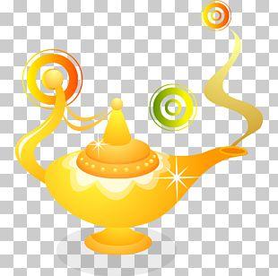 Aladdin Lamp Cartoon PNG
