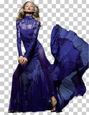 Evening Gown Dress Fashion Woman PNG