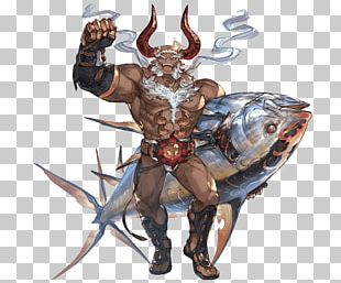 Granblue Fantasy Male Character Concept Art PNG