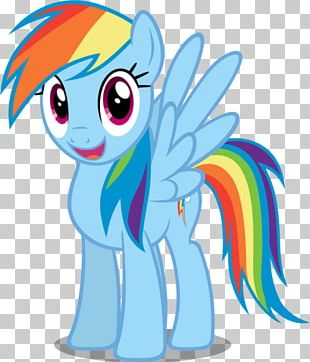 Rainbow Dash Smiling PNG