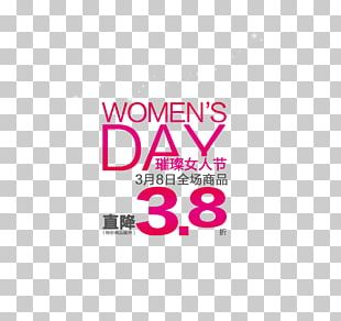 International Womens Day Poster Sales Promotion PNG