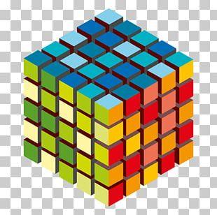 Rubik's Cube Geometry Symmetry PNG