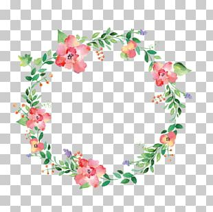 Floral Design Wreath Flower Drawing PNG
