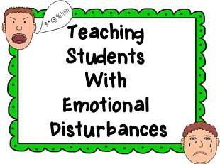 Emotional And Behavioral Disorders Teacher Student Special Education PNG