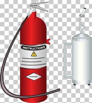 Firefighter Firefighting Fire Extinguisher PNG