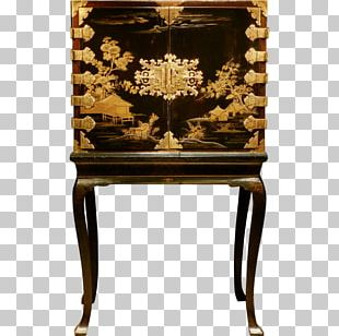 Japanese Lacquerware Cabinetry Furniture Kitchen Cabinet PNG