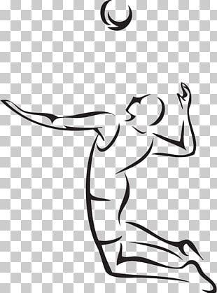Beach Volleyball Football Player Sport PNG
