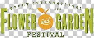 Epcot International Flower & Garden Festival Logo PNG