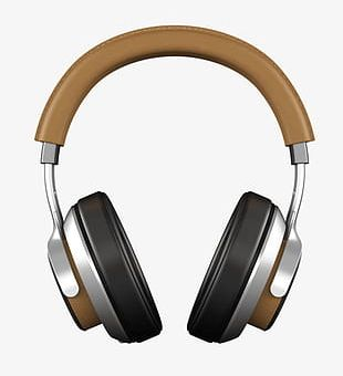 Headset Object PNG