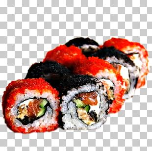 Sushi California Roll Gimbap Japanese Cuisine Makizushi PNG