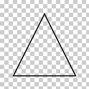 Penrose Triangle Acute And Obtuse Triangles Shape PNG