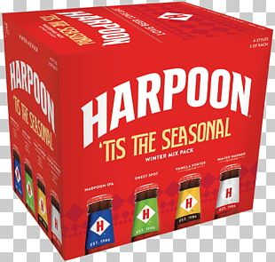Harpoon Brewery Beer Harpoon IPA India Pale Ale Leinenkugels PNG