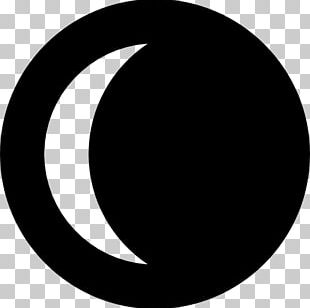 Crescent Lunar Phase Moon Computer Icons PNG