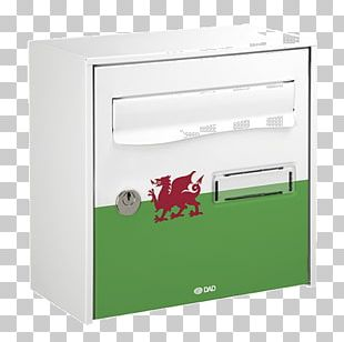 Wales Letter Box Post Box Mail Design PNG