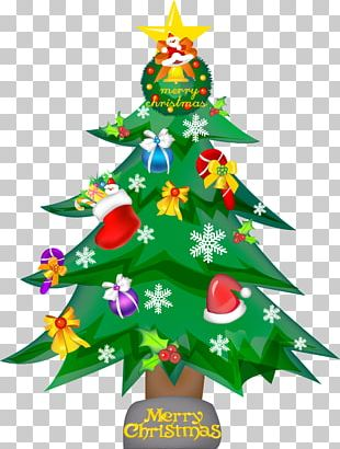 Christmas Tree Drawing How-to PNG