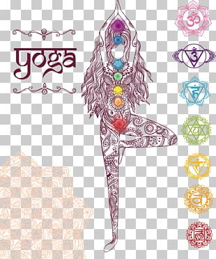 Mandala Yoga Chakra Drawing Illustration PNG