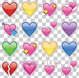 Emoji Heart IPhone Emoticon Symbol PNG