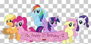 My Little Pony Pinkie Pie Birthday Greeting & Note Cards PNG