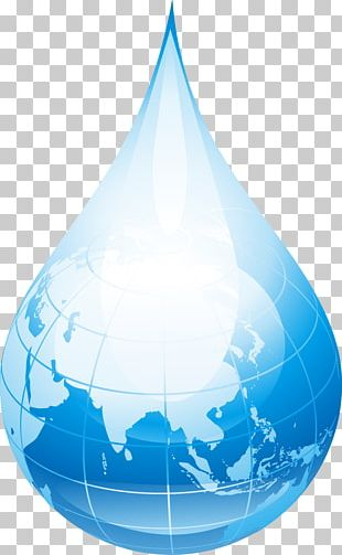 World Water Day Drop Tap PNG