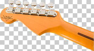 Electric Guitar Fender Stratocaster The Black Strat Fender Musical Instruments Corporation Fender Custom Shop PNG