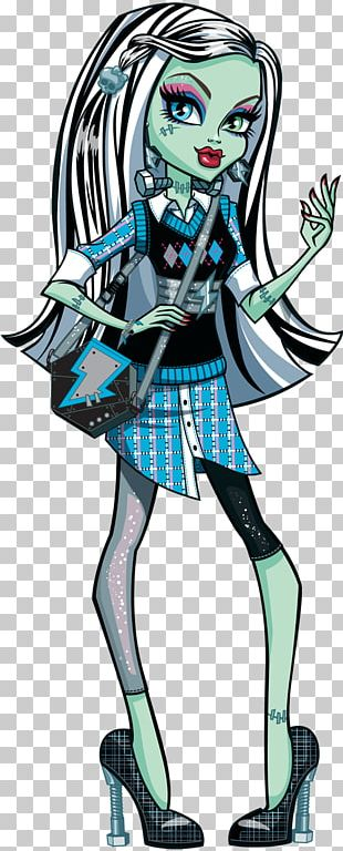 Frankie Stein Monster High Basic Doll Frankie Monster High: Ghoul Spirit PNG