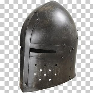 Helmet Middle Ages Great Helm Components Of Medieval Armour Knight PNG