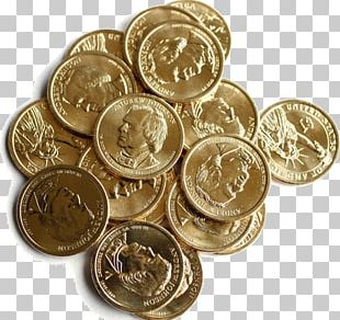 Dollar Coin Money United States Dollar Currency PNG
