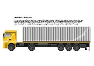 Semi-trailer Truck Flatbed Truck PNG