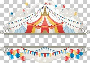 Circus Tent Illustration PNG
