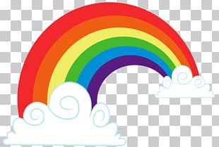 Rainbow Cloud PNG