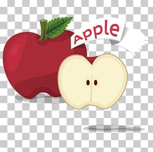 Apple Fruit Cartoon PNG