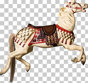 Horse Carousel Amusement Park Reindeer PNG