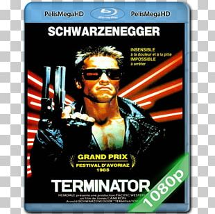 Arnold Schwarzenegger The Terminator Skynet Poster PNG