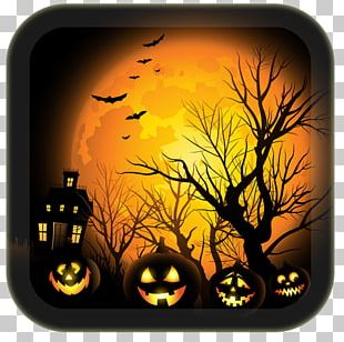 Halloween Jack-o'-lantern Haunted Attraction PNG
