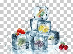 Ice Cube Clear Ice Solid Freezing PNG